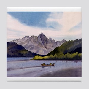 Redfish Lake Tile Coaster