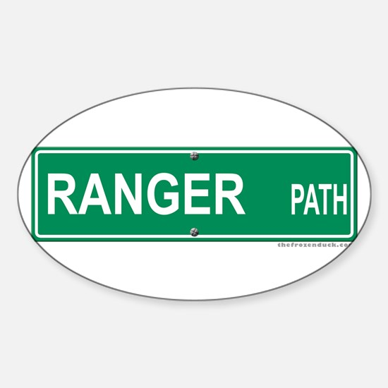Ranger Path Oval Decal