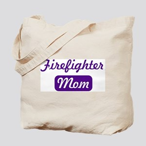 Firefighter mom Tote Bag