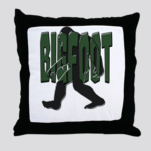 BIGFOOT Throw Pillow