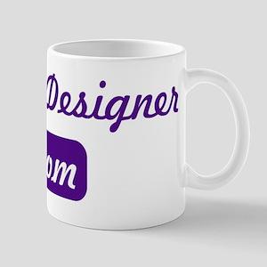 Graphic Designer mom Mug