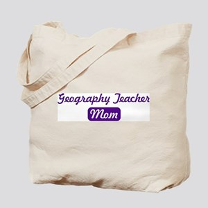Geography Teacher mom Tote Bag