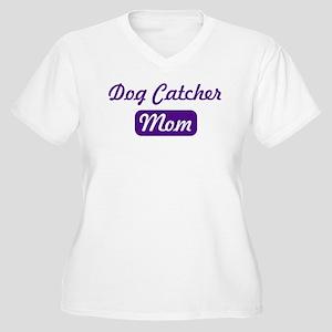 Dog Catcher mom Women's Plus Size V-Neck T-Shirt