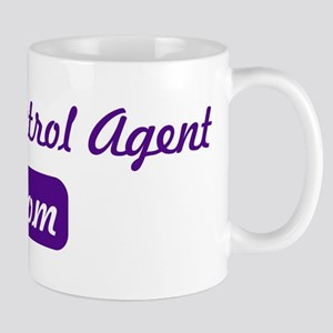 Border Patrol Agent mom Mug