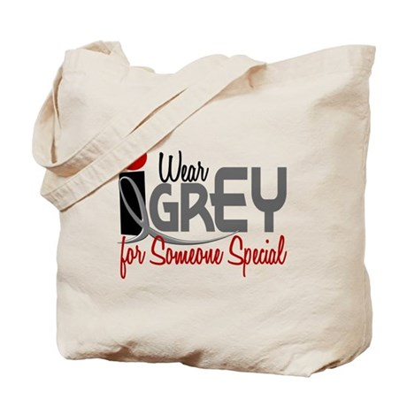 I Wear Grey For Someone Special 32 Tote Bag