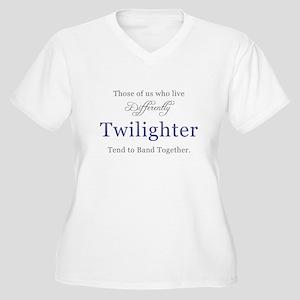 Twilighter Women's Plus Size V-Neck T-Shirt