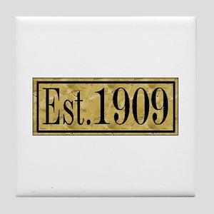 1909 Tile Coaster