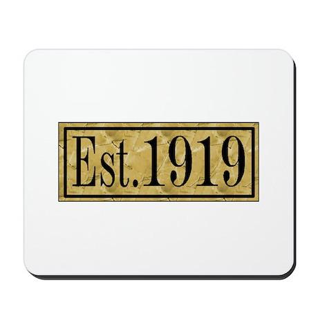 1919 Mousepad