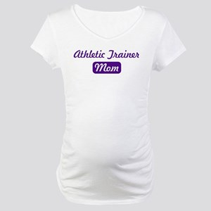 Athletic Trainer mom Maternity T-Shirt