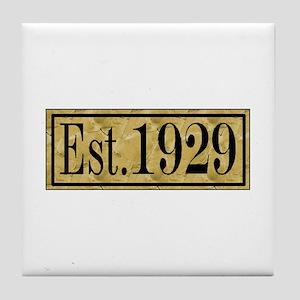 1929 Tile Coaster