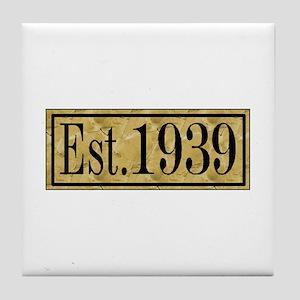 1939 Tile Coaster