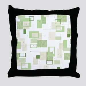 Makanahele Mid Century Modern 13 Throw Pillow