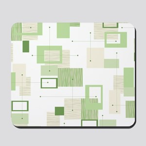 Makanahele Mid Century Modern 13 Mousepad