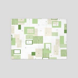 Makanahele Mid Century Modern 13 5'x7'Area Rug