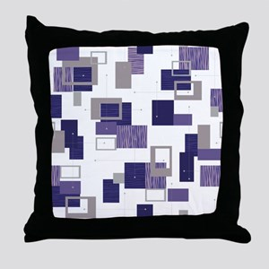 Makanahele Mid Century Modern 11 Throw Pillow