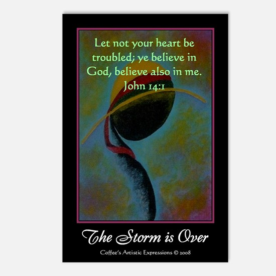 The Storm is Over Postcards (Package of 8)
