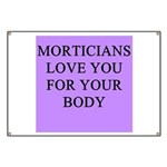 mortician gifts t-shirts Banner