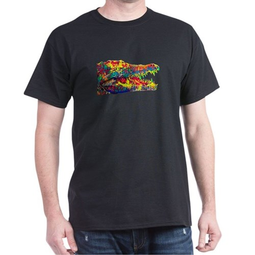 Crocodile Aligator Cayman Colored Design T-Shirt