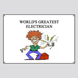 electrician gifts t-shirts Banner