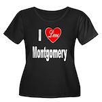 I Love Montgomery (Front) Women's Plus Size Scoop