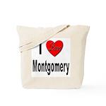 I Love Montgomery Tote Bag