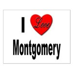 I Love Montgomery Small Poster