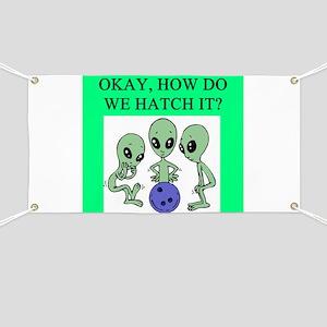 alien bowling joke Banner