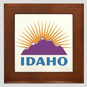 Idaho Framed Tile