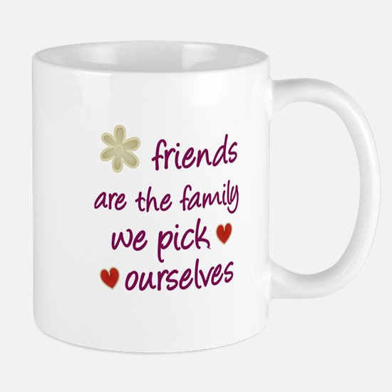 Friends Are Family Mug