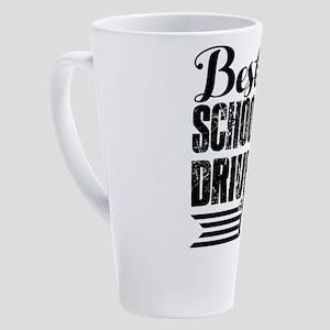 School Bus Driver 17 oz Latte Mug