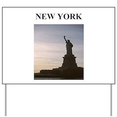 NEW YORK CITY 4 Yard Sign