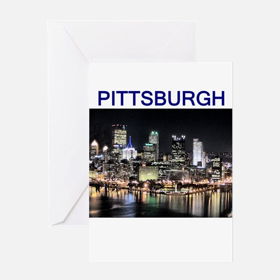 pittsburg gifts and t-shirts Greeting Card