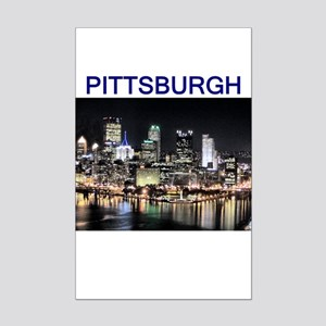 finest selection 4e973 d95ba pittsburg gifts and t-shirts Mini Poster Print