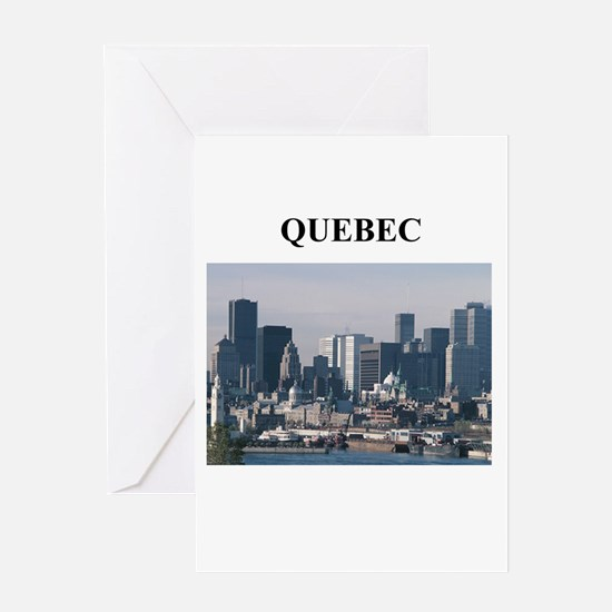 QUEBEC Greeting Card