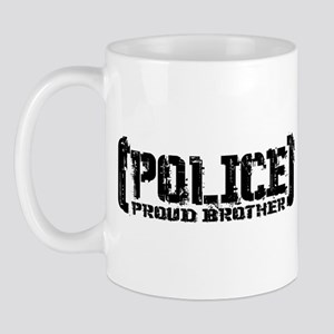 Police Proud Brother Mug
