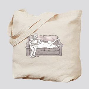 N Couch Baby Tote Bag