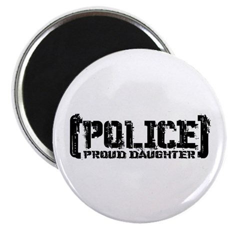 Police Proud Daughter Magnet