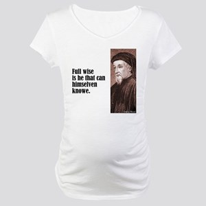 """Chaucer """"Full Wise"""" Maternity T-Shirt"""