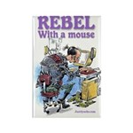 Rebel With A Mouse Rectangle Magnet