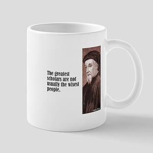 "Chaucer ""Scholars"" Mug"