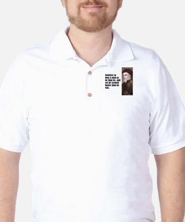 "Chaucer ""Busy Man"" Golf Shirt"