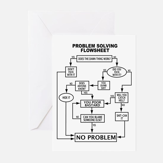 PROBLEM SOLVING Greeting Cards (Pk of 10)