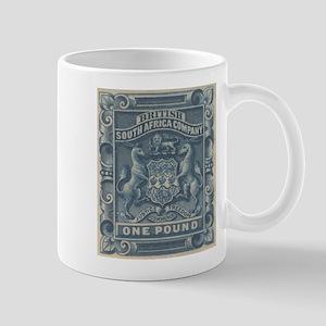 Rhodesia arms One Pound Mug