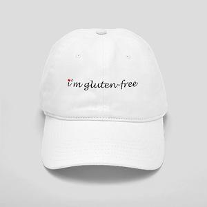 i'm gluten-free w/heart Cap