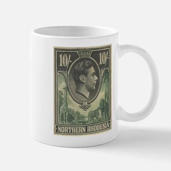 Northern Rhodesia KGVI 10s Mug