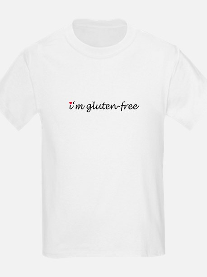 i'm gluten-free w/heart T-Shirt