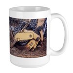 Grab - Construction Truck Art -Large Mug