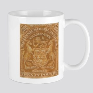 Rhodesia arms 20 Pounds Mug