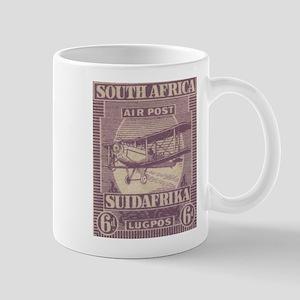 South Africa KGV air 6d Mug