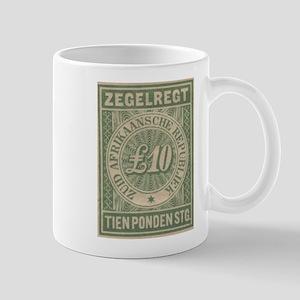Transvaal Ten Pounds revenue Mug